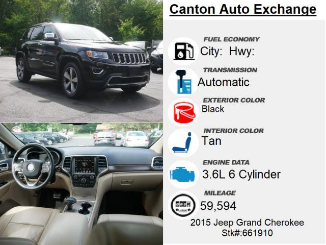 Used Jeep Grand Cherokee Limited 2015 | Canton Auto Exchange. Canton, Connecticut