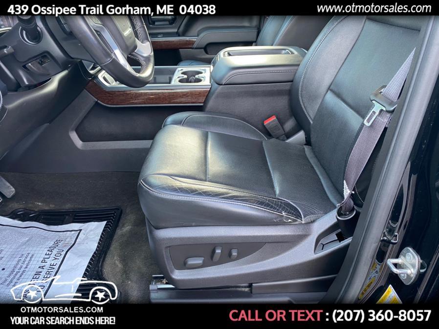 Used GMC Sierra 1500 SLT 2015   Ossipee Trail Motor Sales. Gorham, Maine