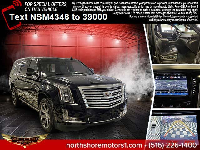Used Cadillac Escalade ESV 4WD 4dr Platinum 2017 | Sunrise Auto Outlet. Amityville, New York