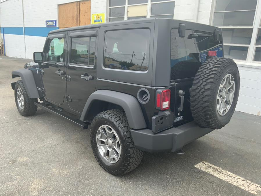 Used Jeep Wrangler Unlimited 4WD 4dr Rubicon 2016 | Capital Lease and Finance. Brockton, Massachusetts