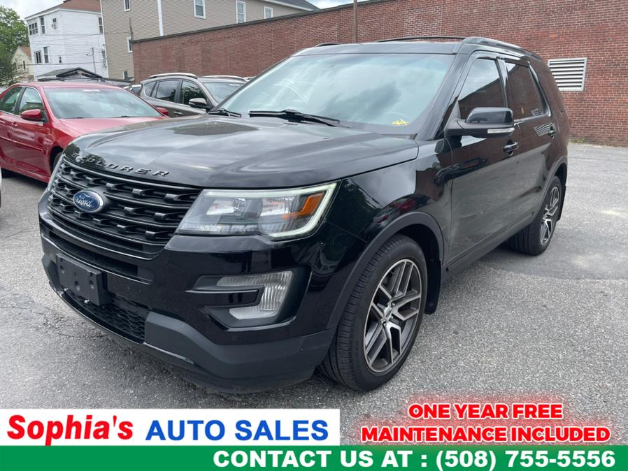 Used Ford Explorer Sport 4WD 2017 | Sophia's Auto Sales Inc. Worcester, Massachusetts