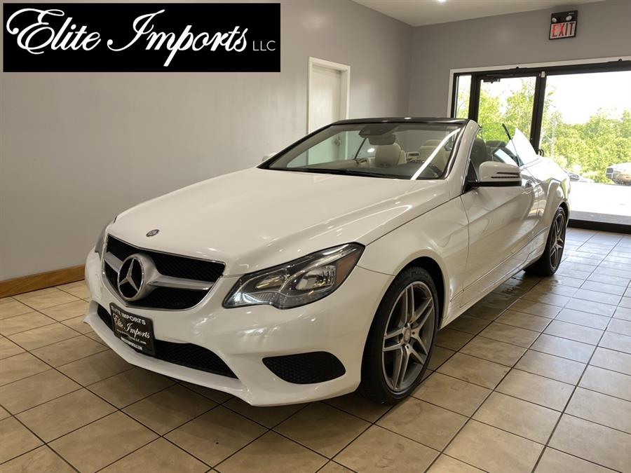 Used Mercedes-benz E-class E 350 2dr Convertible 2014   Elite Imports LLC. West Chester, Ohio