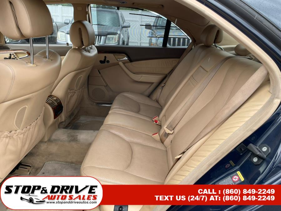 Used Mercedes-Benz S-Class 4dr Sdn 5.0L 4MATIC 2006 | Stop & Drive Auto Sales. East Windsor, Connecticut