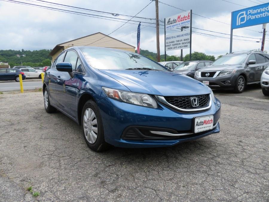 Used Honda Civic Sedan 4dr CVT LX 2015   Auto Match LLC. Waterbury, Connecticut