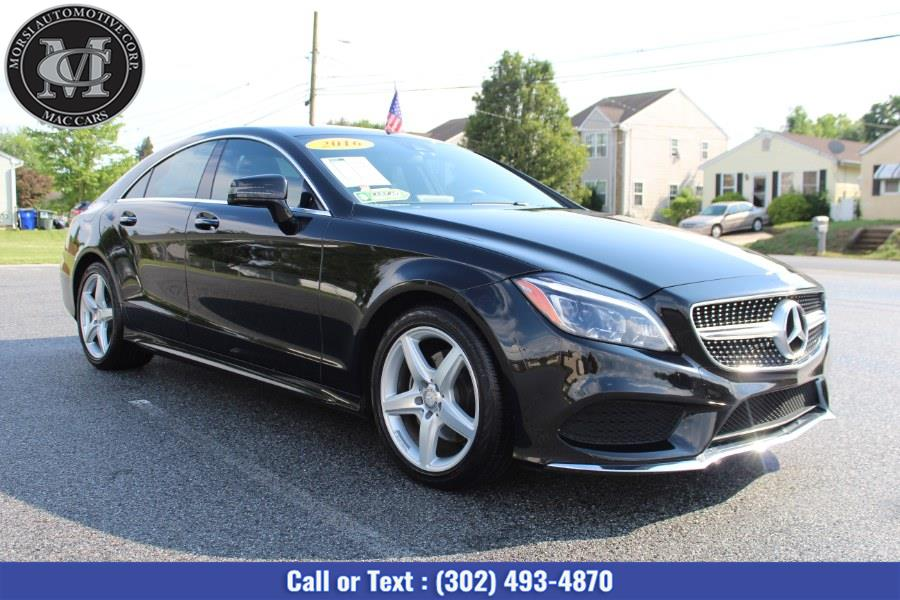 Used Mercedes-Benz CLS Class 4dr Sdn CLS 400 4MATIC 2016 | Morsi Automotive Corp. New Castle, Delaware