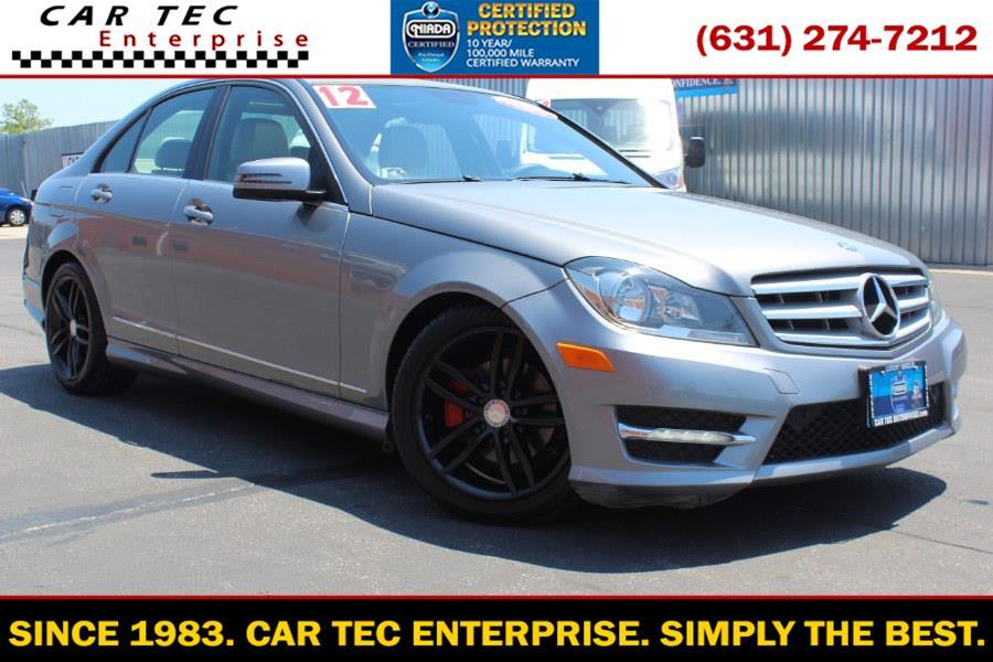 Used Mercedes-Benz C-Class 4dr Sdn C300 Sport 4MATIC 2012 | Car Tec Enterprise Leasing & Sales LLC. Deer Park, New York