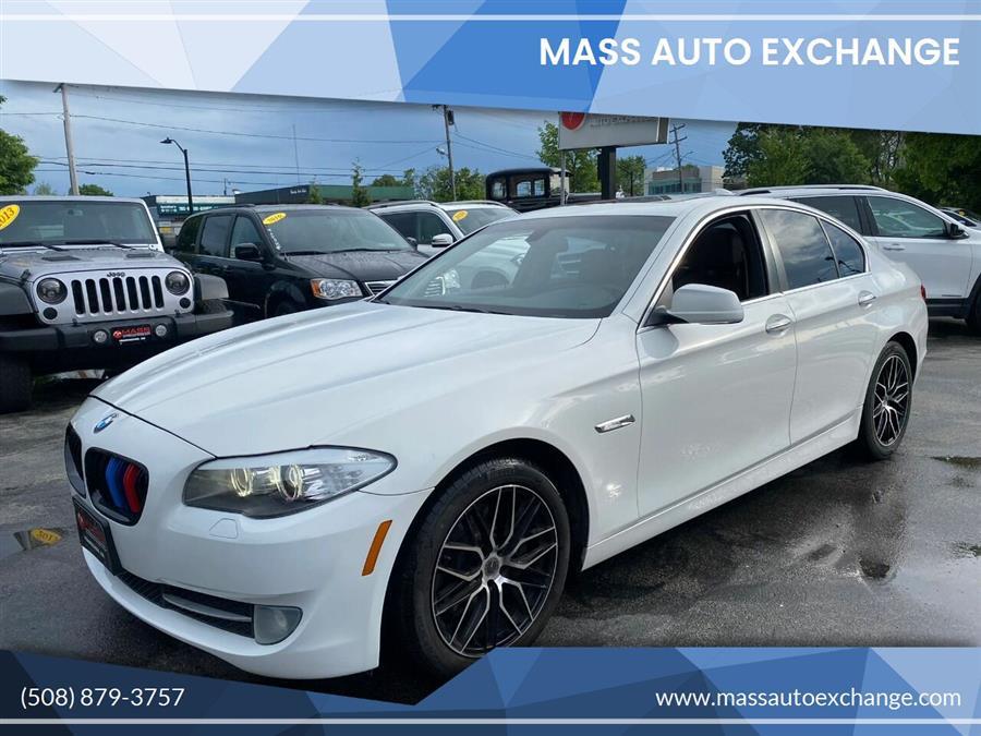 Used 2013 BMW 5 Series in Framingham, Massachusetts | Mass Auto Exchange. Framingham, Massachusetts