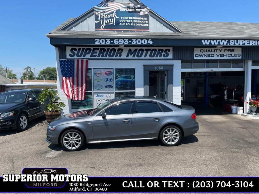 Used 2014 Audi A4 A4 PREMIUM PLUS S LINE in Milford, Connecticut | Superior Motors LLC. Milford, Connecticut