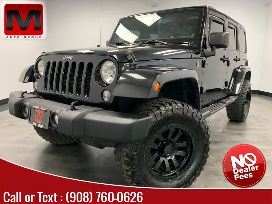 Used Jeep Wrangler Unlimited 4WD 4dr Sahara 2014 | M Auto Group. Elizabeth, New Jersey
