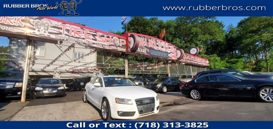 Used Audi A5 2dr Cpe Auto quattro 2.0T Premium Plus 2011   Rubber Bros Auto World. Brooklyn, New York