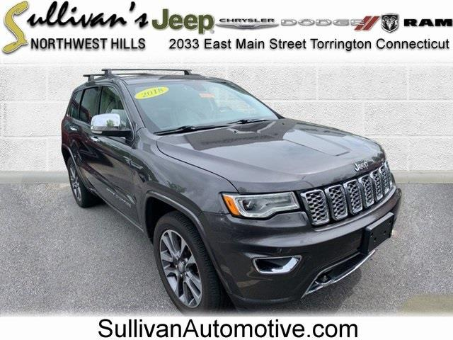 Used Jeep Grand Cherokee Overland 2018   Sullivan Automotive Group. Avon, Connecticut