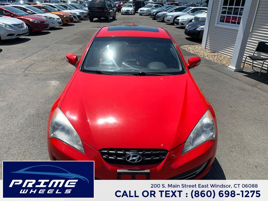 Used Hyundai Genesis Coupe 2dr 3.8L Auto Grand Touring w/Nav 2010 | Prime Wheels. East Windsor, Connecticut