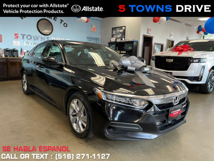 Used Honda Accord Sedan LX 1.5T CVT 2018   5 Towns Drive. Inwood, New York