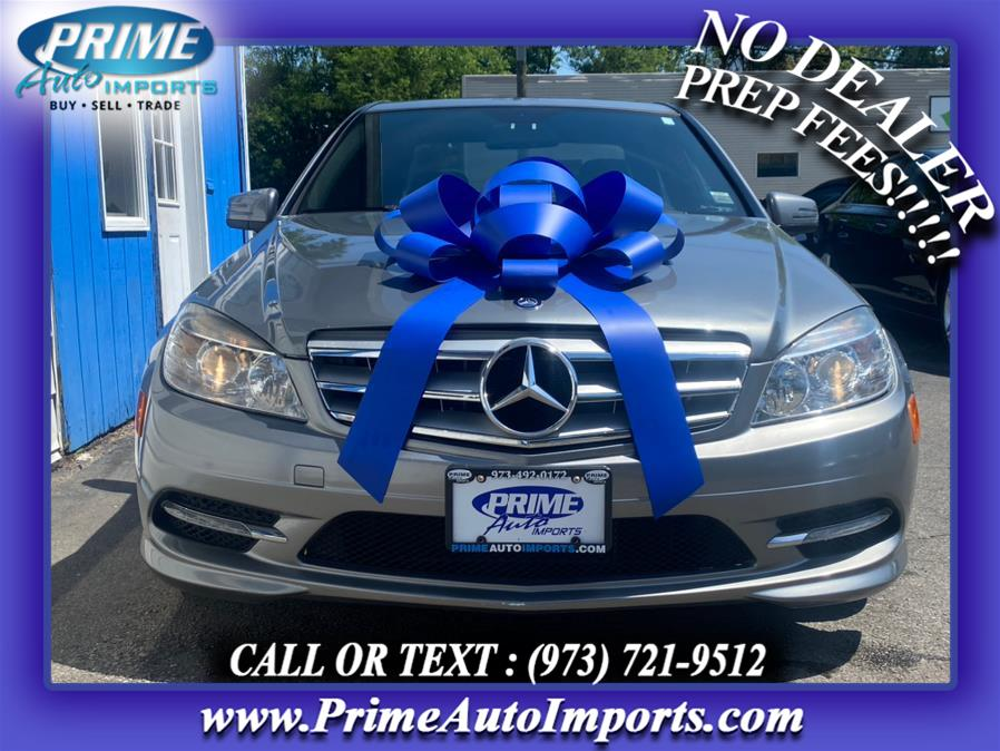 Used Mercedes-Benz C-Class 4dr Sdn C300 Sport 4MATIC 2011   Prime Auto Imports. Bloomingdale, New Jersey
