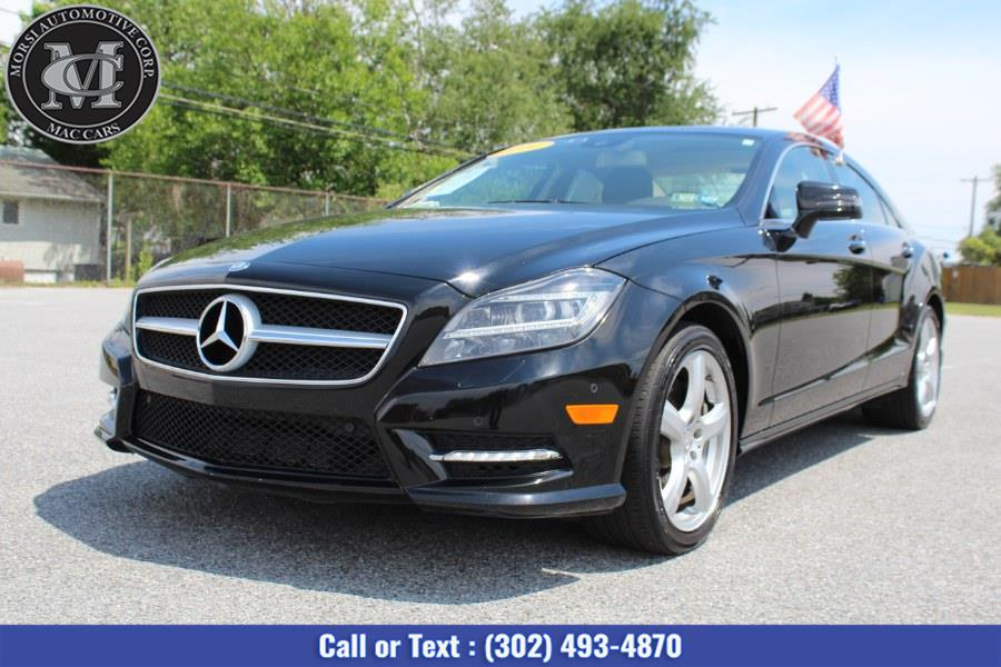 Used Mercedes-Benz CLS-Class 4dr Sdn CLS 550 4MATIC 2014 | Morsi Automotive Corp. New Castle, Delaware