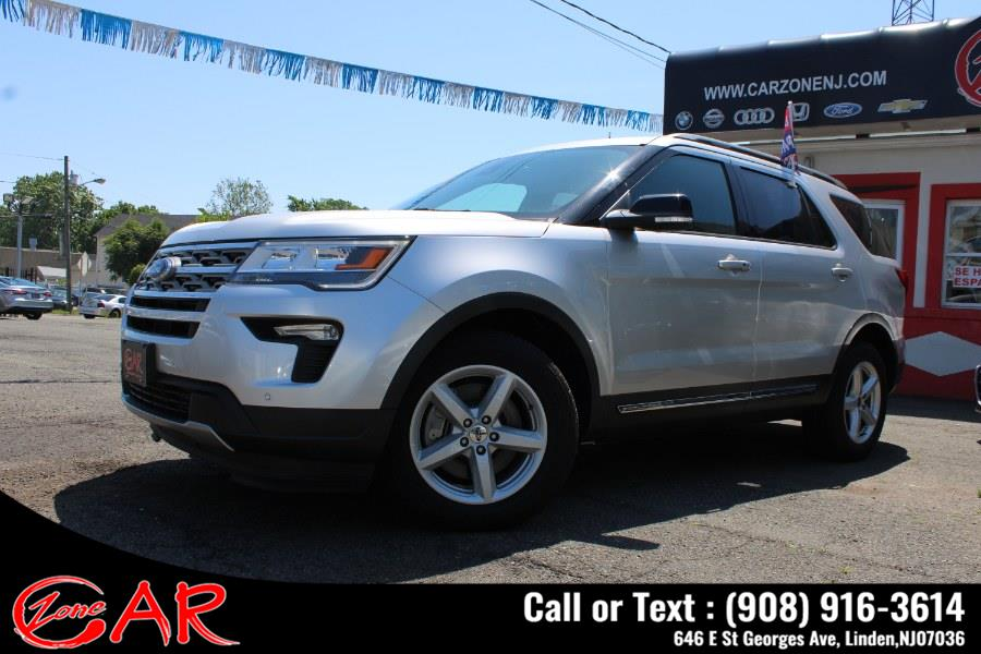 Used Ford Explorer XLT AWD 2018 | Car Zone. Linden, New Jersey