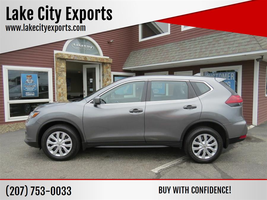 Used Nissan Rogue S AWD 4dr Crossover 2018   Lake City Exports Inc. Auburn, Maine