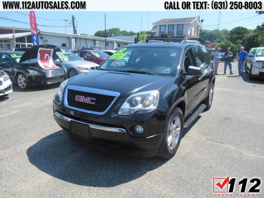 Used GMC Acadia AWD 4dr SLE 2012 | 112 Auto Sales. Patchogue, New York