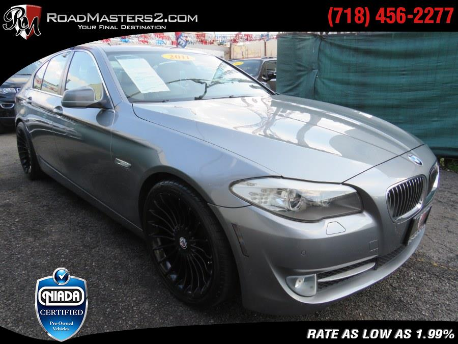 Used BMW 5 Series 4dr Sdn 535i RWD 2011 | Road Masters II INC. Middle Village, New York