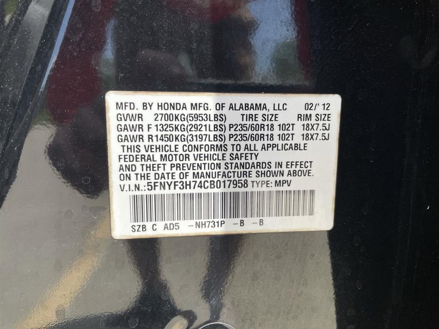 Used Honda Pilot 2WD 4dr EX-L w/Navi 2012 | Josh's All Under Ten LLC. Elida, Ohio