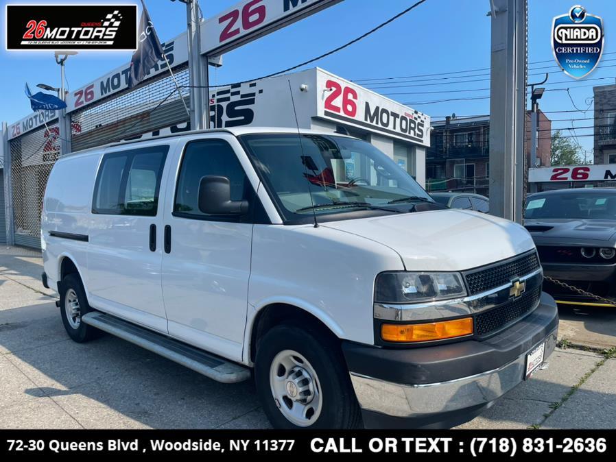 Used 2019 Chevrolet Express Cargo Van in Woodside, New York | 26 Motors Queens. Woodside, New York