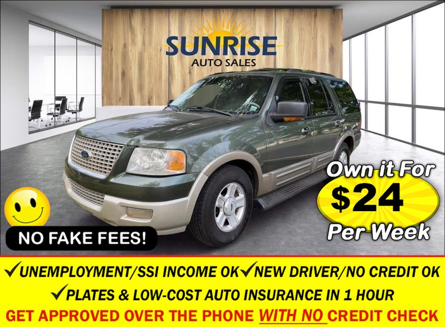 Used Ford Expedition 5.4L Eddie Bauer 4WD 2003 | Sunrise Auto Sales of Elmont. Elmont, New York