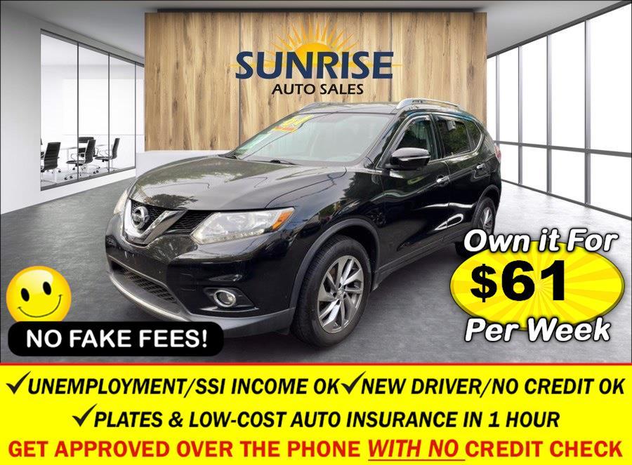 Used Nissan Rogue AWD 4dr SL 2014   Sunrise Auto Sales of Elmont. Elmont, New York