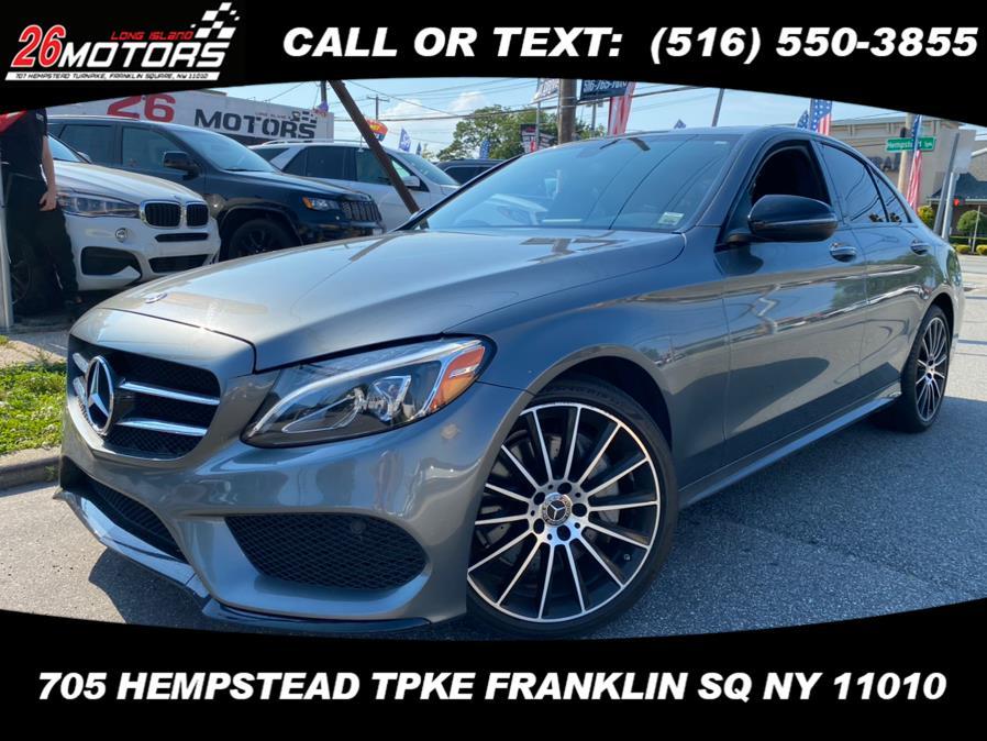 Used Mercedes-Benz C-Class ///AMG Package C 300 4MATIC Sedan 2018   Hempstead Auto Outlet Inc. DBA 26 Motors Long Isla. Franklin Sq, New York