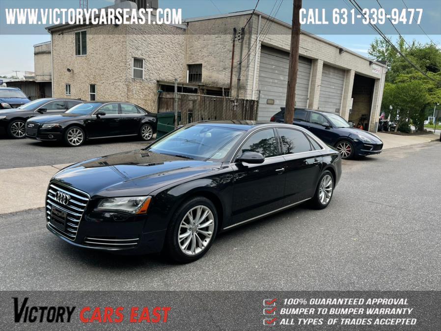 Used Audi A8 L 4dr Sdn 2012 | Victory Cars East LLC. Huntington, New York