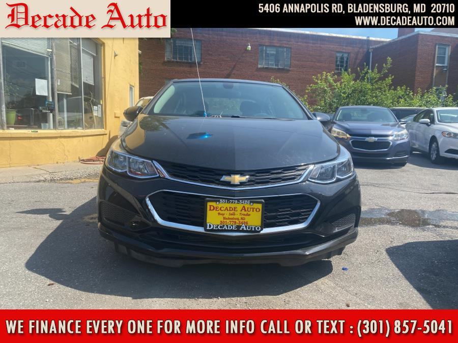 Used 2017 Chevrolet Cruze in Bladensburg, Maryland | Decade Auto. Bladensburg, Maryland