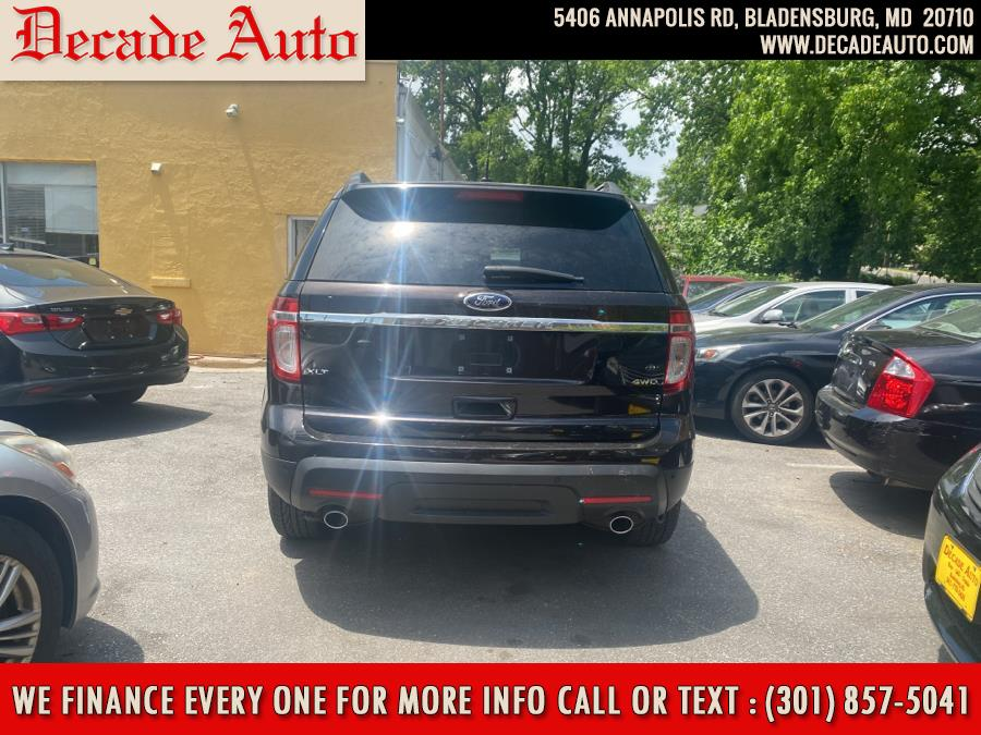 Used Ford Explorer 4WD 4dr XLT 2014 | Decade Auto. Bladensburg, Maryland