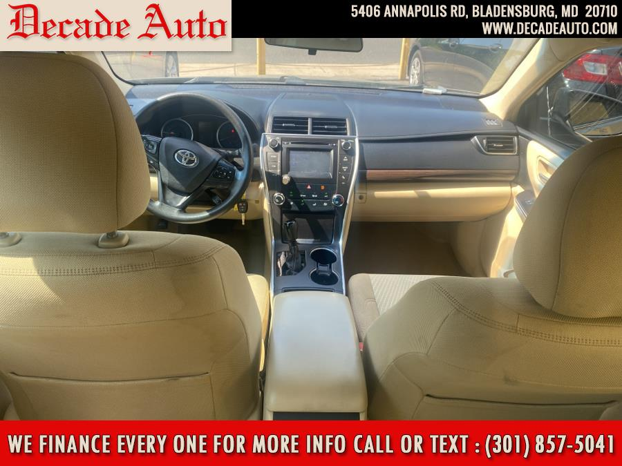 Used Toyota Camry LE Automatic (Natl) 2017 | Decade Auto. Bladensburg, Maryland