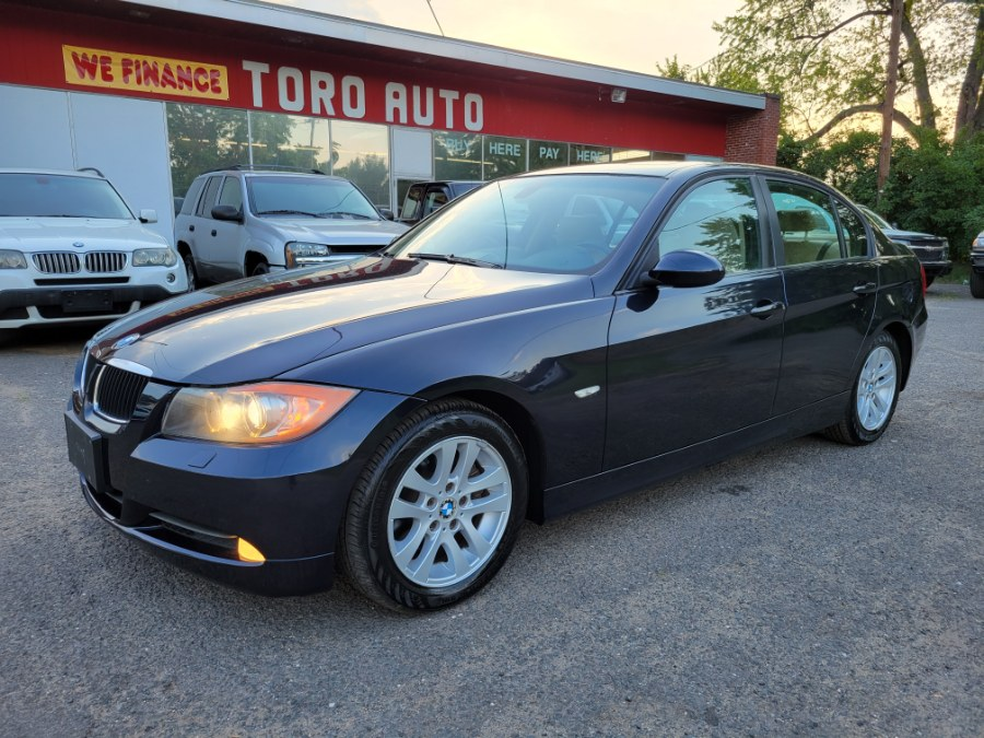 Used BMW 3 Series 4dr Sdn 328xi AWD Navi Loaded 2007 | Toro Auto. East Windsor, Connecticut