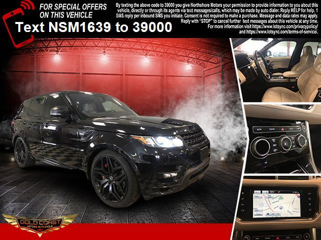 Used Land Rover Range Rover Sport 4WD 4dr V8 Autobiography 2016   Sunrise Auto Outlet. Amityville, New York