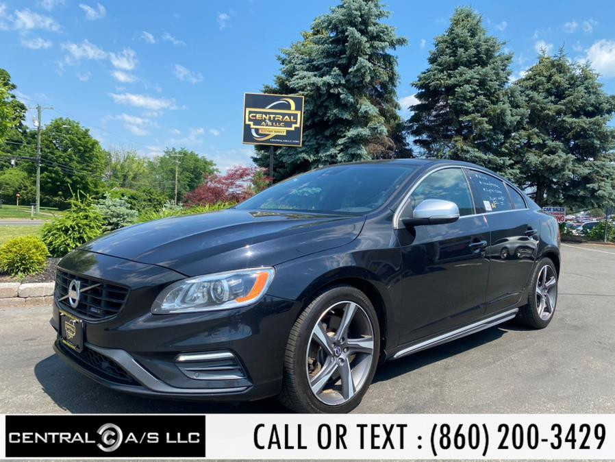 Used Volvo S60 4dr Sdn T6 R-Design AWD 2015 | Central A/S LLC. East Windsor, Connecticut