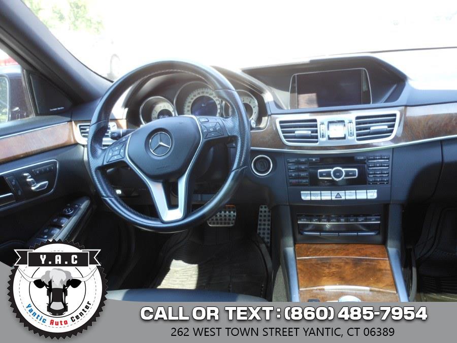 Used Mercedes-Benz E-Class 4dr Sdn E350 Sport 4MATIC 2014 | Yantic Auto Center. Yantic, Connecticut