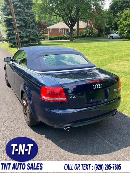 Used Audi A4 2007 2dr Cabrio Auto 2.0T quattro 2007 | TNT Auto Sales USA inc. Bronx, New York