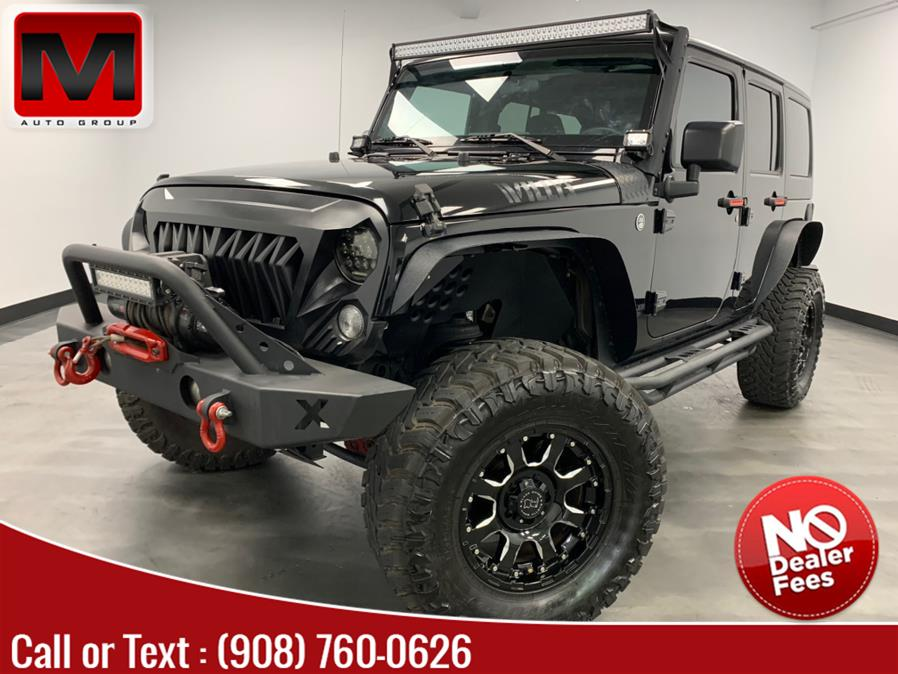 Used Jeep Wrangler Unlimited 4WD 4dr Sport 2014   M Auto Group. Elizabeth, New Jersey