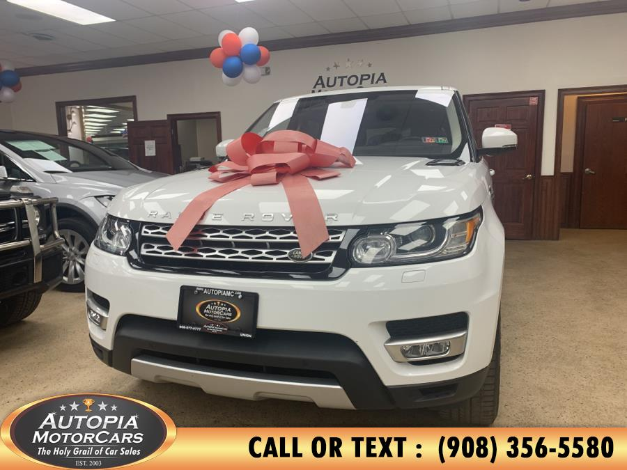 Used Land Rover Range Rover Sport 4WD 4dr V6 HSE 2016 | Autopia Motorcars Inc. Union, New Jersey