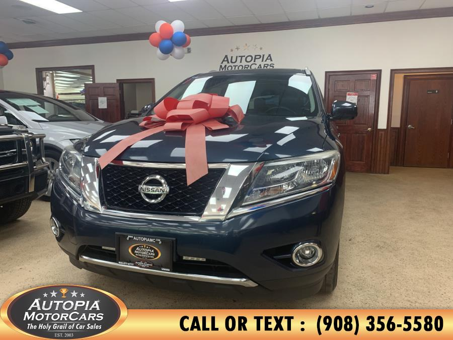 Used 2014 Nissan Pathfinder in Union, New Jersey | Autopia Motorcars Inc. Union, New Jersey