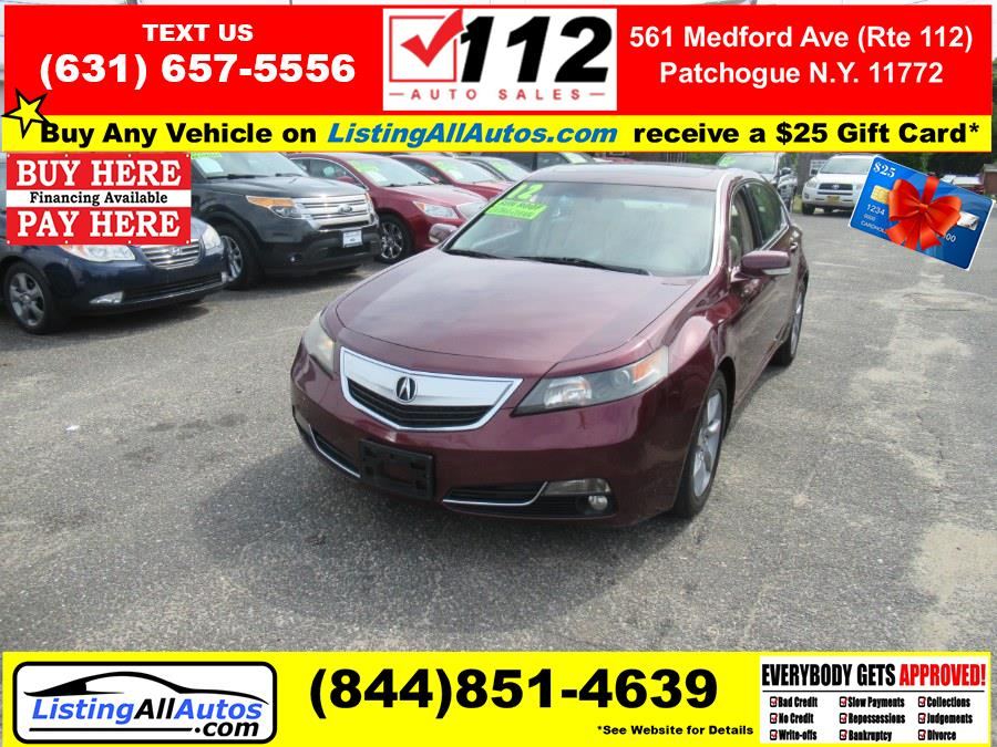 Used 2012 Acura TL in Patchogue, New York | www.ListingAllAutos.com. Patchogue, New York