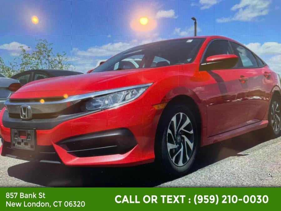 Used Honda Civic Sedan EX CVT 2018   McAvoy Inc dba Town Hill Auto. New London, Connecticut