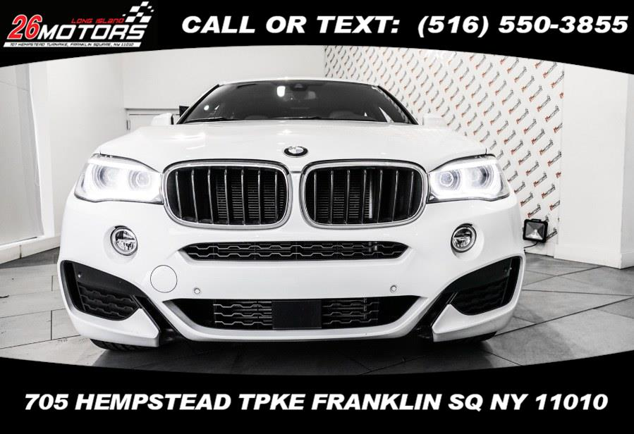 Used BMW X6 ///M Sport Package xDrive35i Sports Activity Coupe 2018 | Hempstead Auto Outlet Inc. DBA 26 Motors Long Isla. Franklin Sq, New York