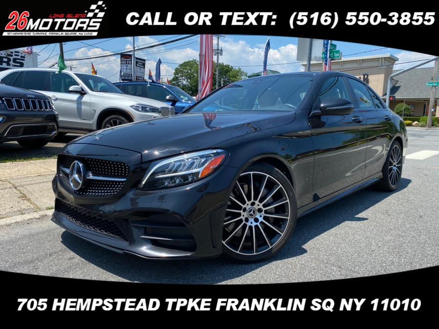 Used Mercedes-Benz C-Class ///AMG Package C 300 Sedan 2019   Hempstead Auto Outlet Inc. DBA 26 Motors Long Isla. Franklin Sq, New York