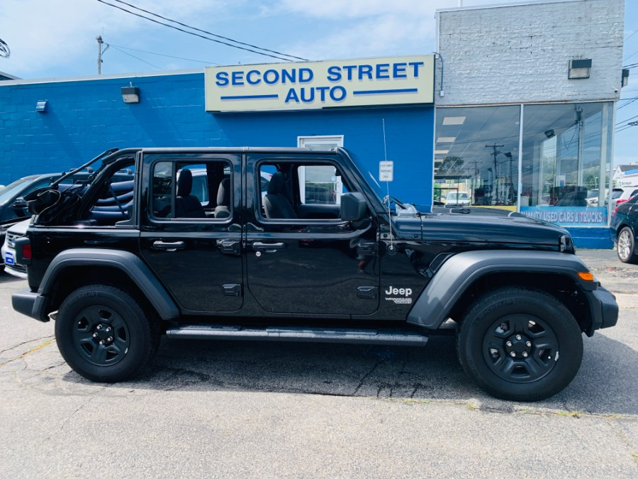 Used 2018 Jeep Wrangler Unlimited in Manchester, New Hampshire | Second Street Auto Sales Inc. Manchester, New Hampshire