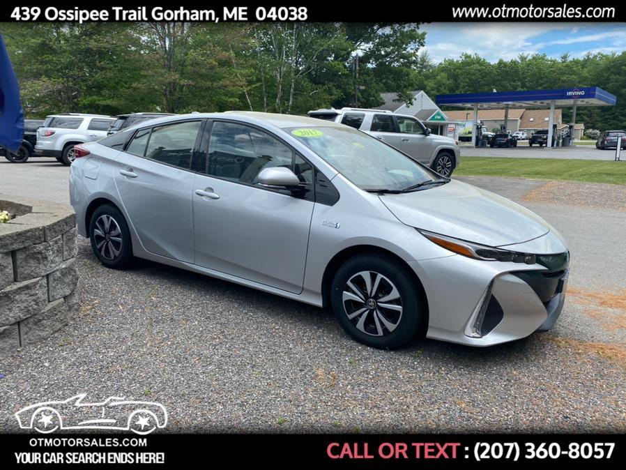 Used 2017 Toyota Prius Prime in Gorham, Maine | Ossipee Trail Motor Sales. Gorham, Maine