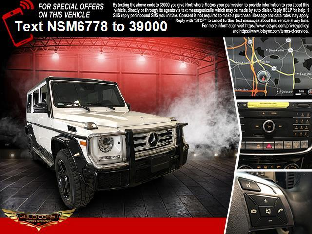 Used Mercedes-Benz G-Class G 550 4MATIC SUV 2017 | Sunrise Auto Outlet. Amityville, New York