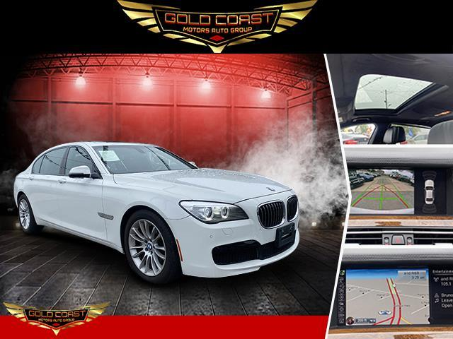 Used BMW 7 Series 4dr Sdn 740Li xDrive AWD 2015 | Sunrise Auto Outlet. Amityville, New York