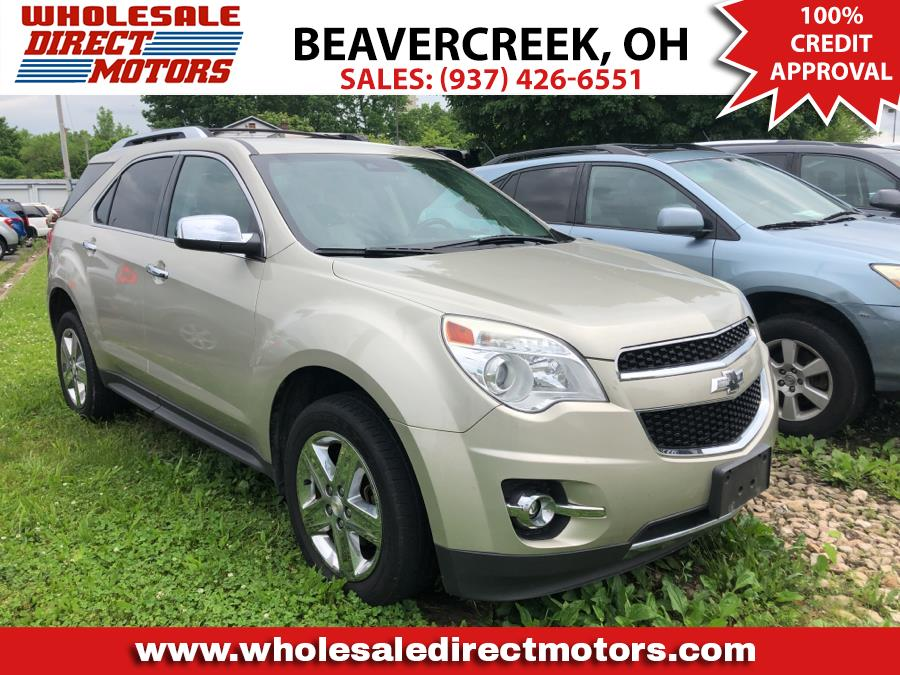 Used Chevrolet Equinox FWD 4dr LTZ 2014 | Wholesale Direct Motors. Beavercreek, Ohio
