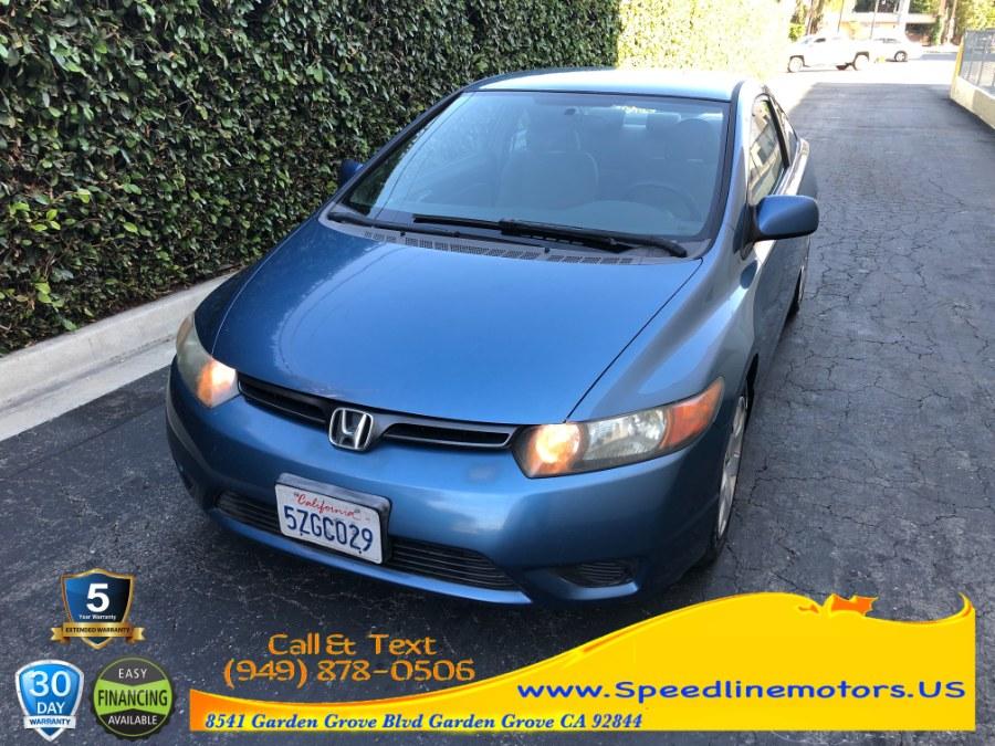 Used Honda Civic Cpe 2dr MT LX 2007 | Speedline Motors. Garden Grove, California